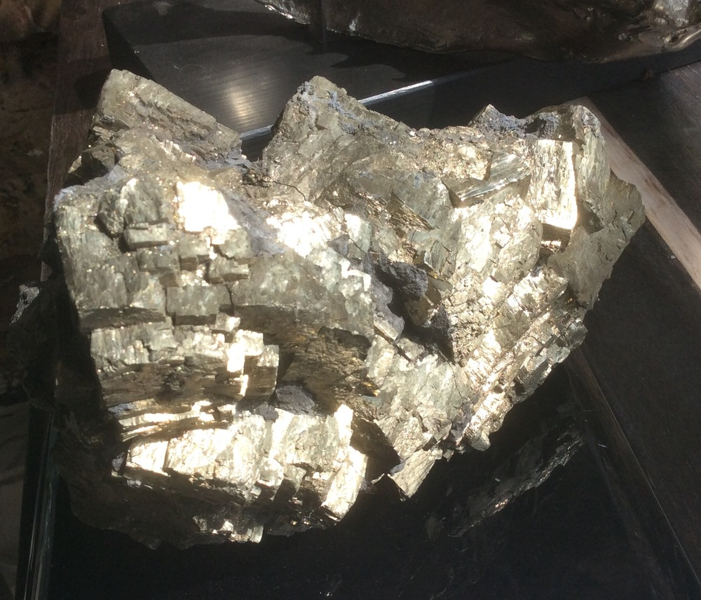Pyrite specimen (21cm x 13cm)