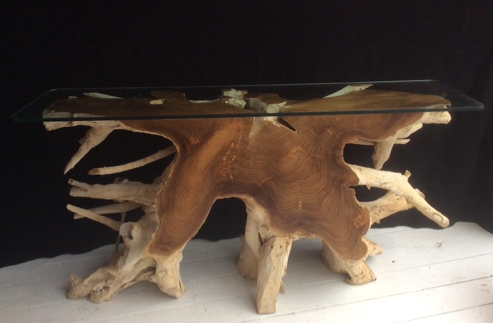 side table - front view