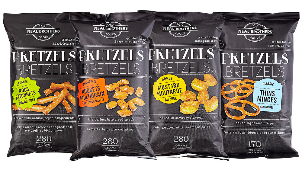 Neal Brothers Pretzels Packaging Design