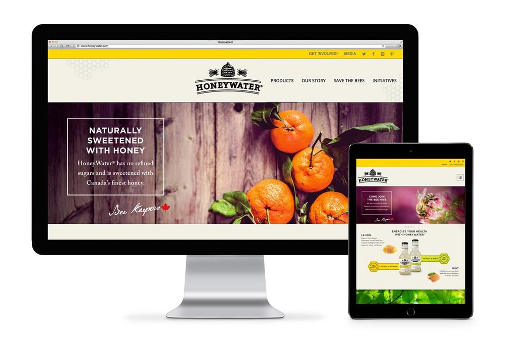 honeywater-website