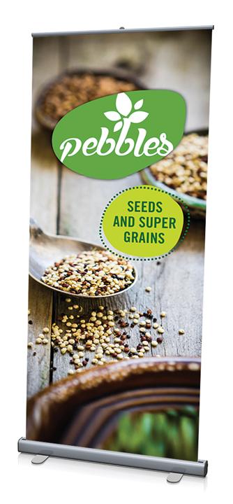Pebbles Tradeshow Banner Design