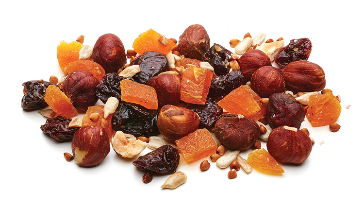 Handfuel - a premium blend of fruits and nuts