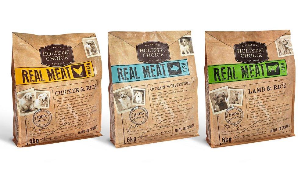 Holistic Choice Pet Food Packaging Design