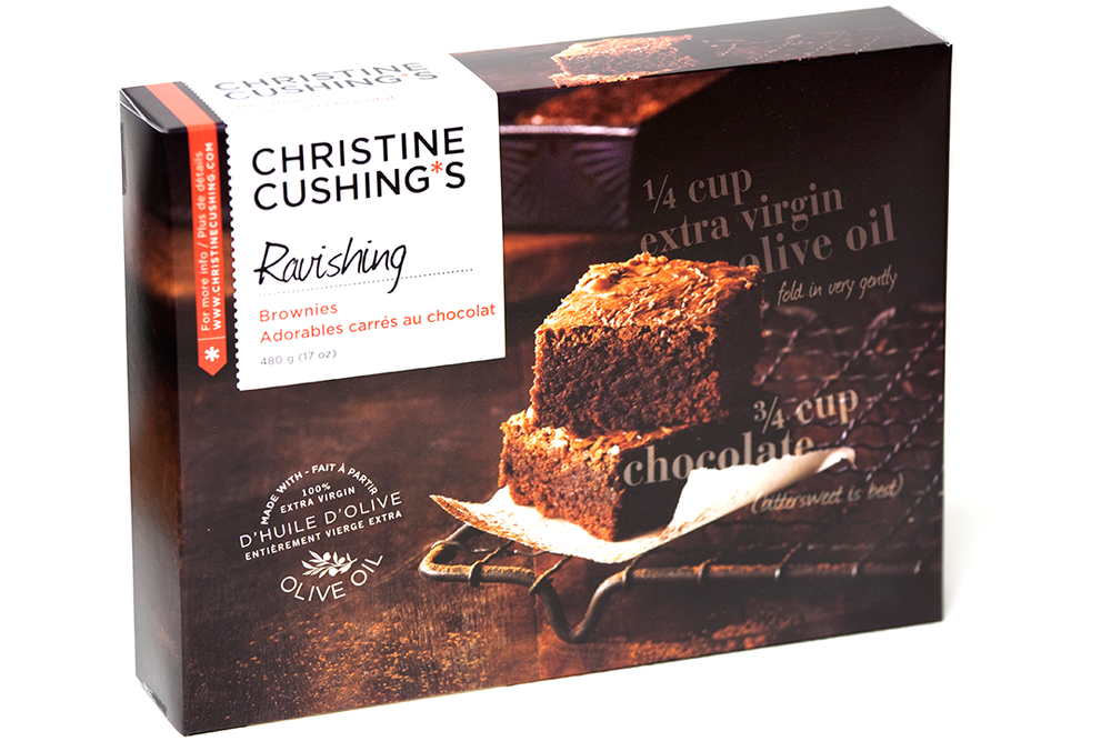 Christine Cushing Brownies