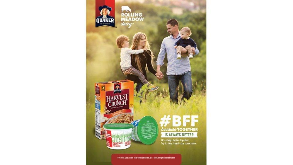 Rolling Meadow Dairy Packaging Design
