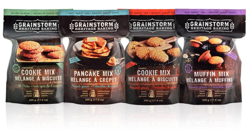 Grainstorm Organic Mixes Lineup