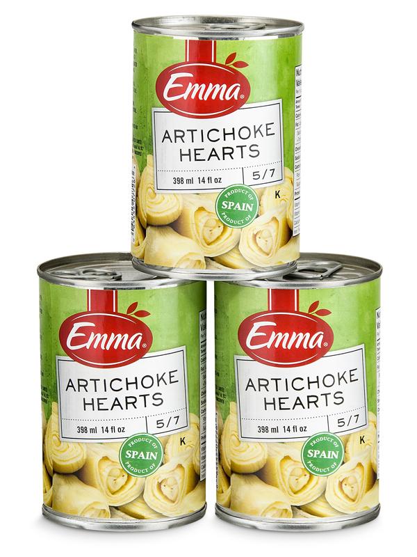 Emma Artichoke Hearts
