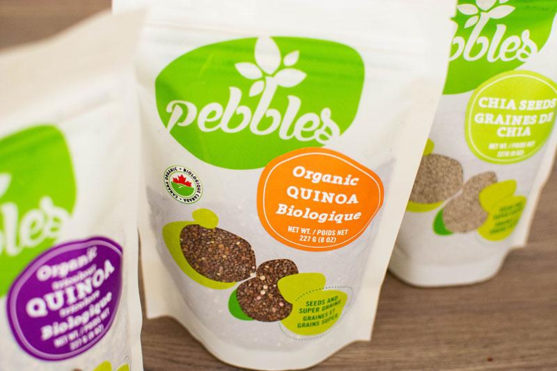 Pebbles Packaging Design