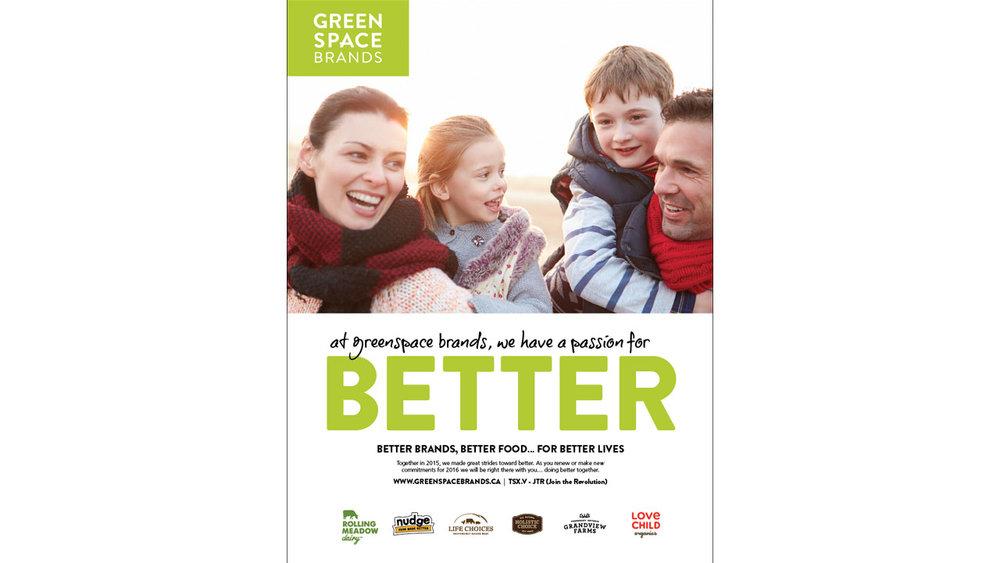 Greenspace Brands Advertising