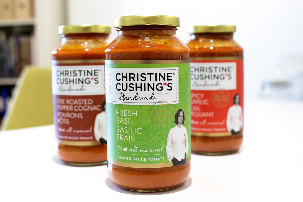 Christine Cushing Sauces
