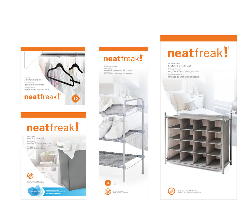 Neatfreak Packaging Design
