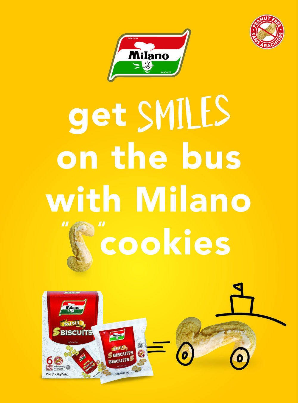 Milano campaign, tagline, and advertising design