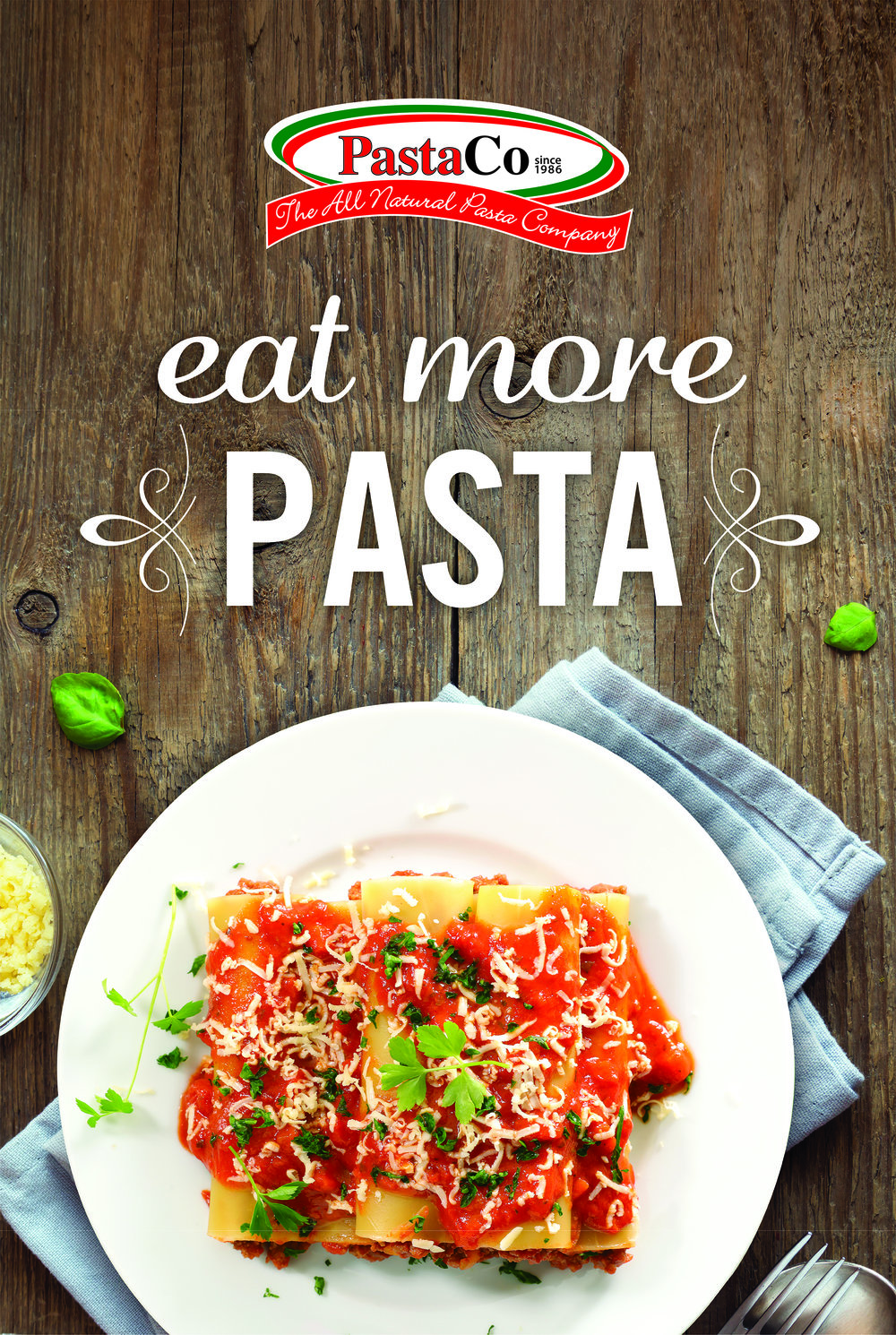 Pasta Co. Tradeshow Poster Design