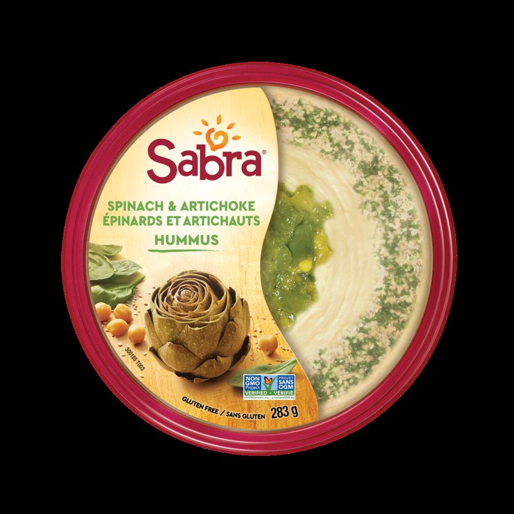 SABRA 10oz Spinach Artishoke TOP VIEW.png