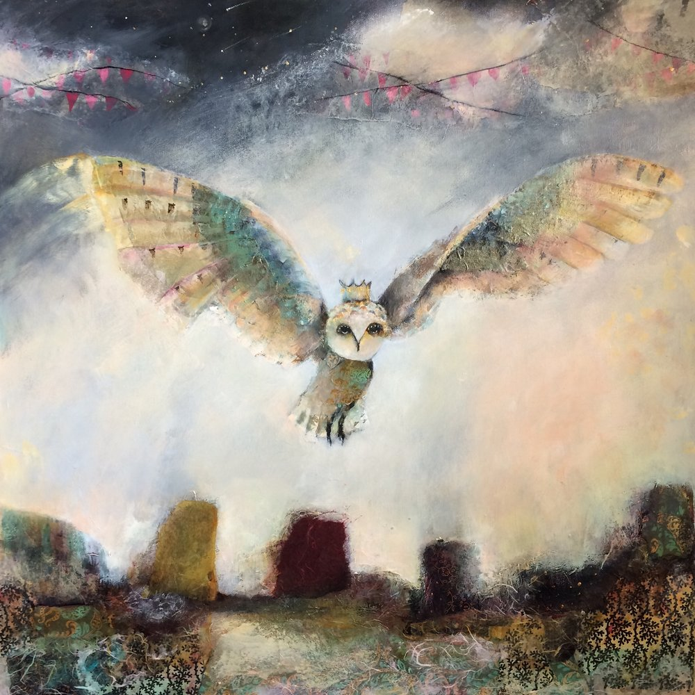 "He Had Wings 30""x 30"""