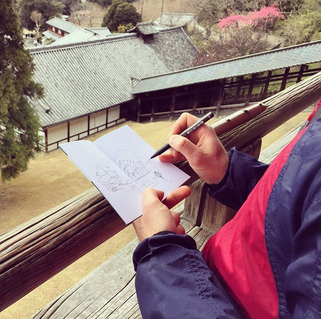 Mayfly sketching #journal #japan #nara #sketch #travel #jotter #soundsofjapan