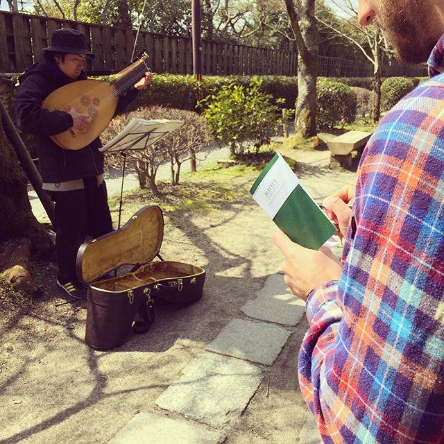 Mayfly sketching #Kyoto #japan #soundsofjapan #travel #sketch #jotter #music