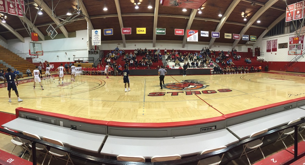 Alumni Hall in Fairfield, CT, the host of the Fairfield Prep Holiday Classic. Provided by: CTHoopsNews