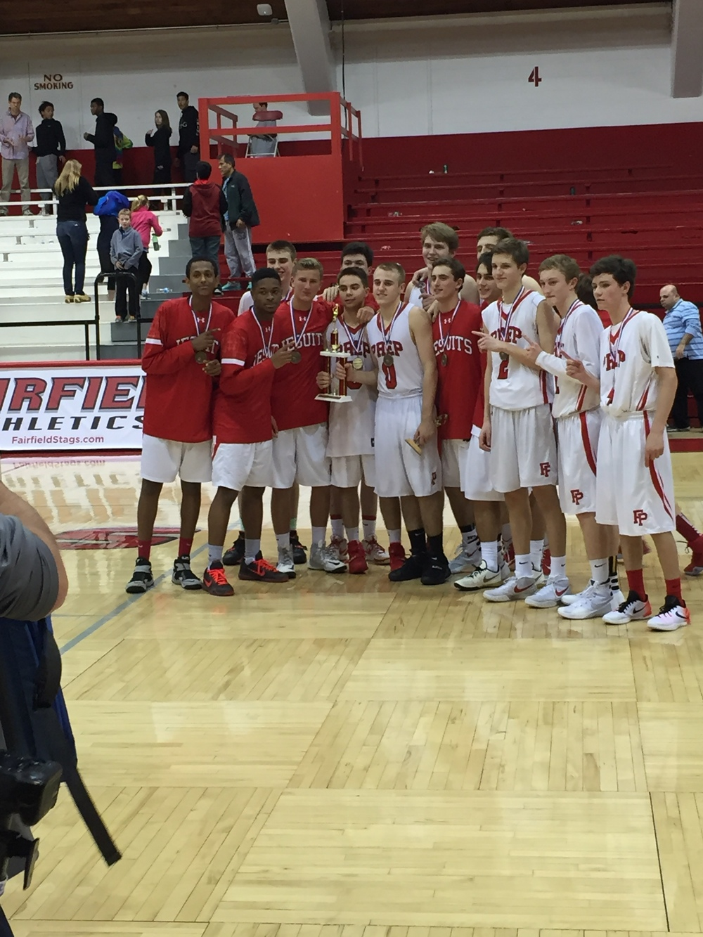 2015 Fairfield Prep Holiday Classic Champions. Provided by: CTHoopsNews