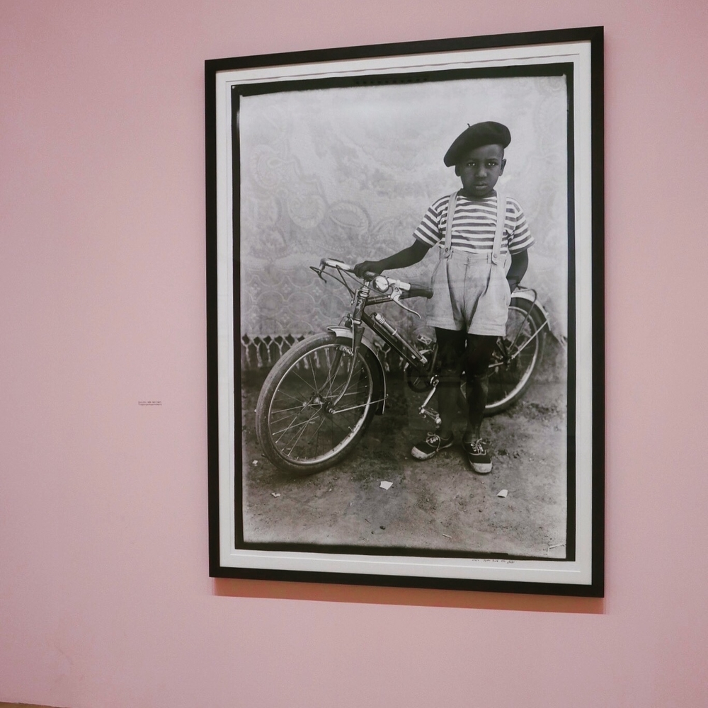 Boy with bicycle is my favourite image of the whole collection