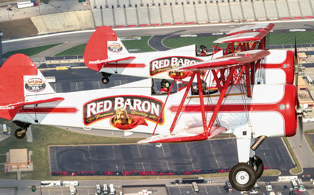 Red Baron stunt planes