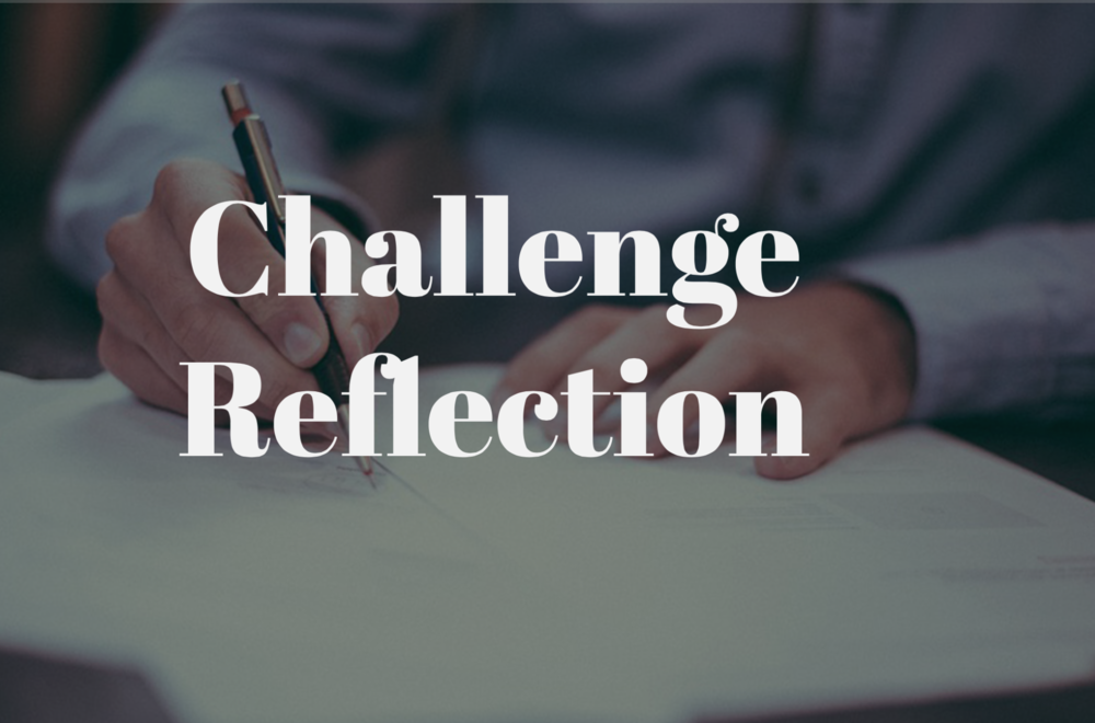 PROGRAM REFLECTION