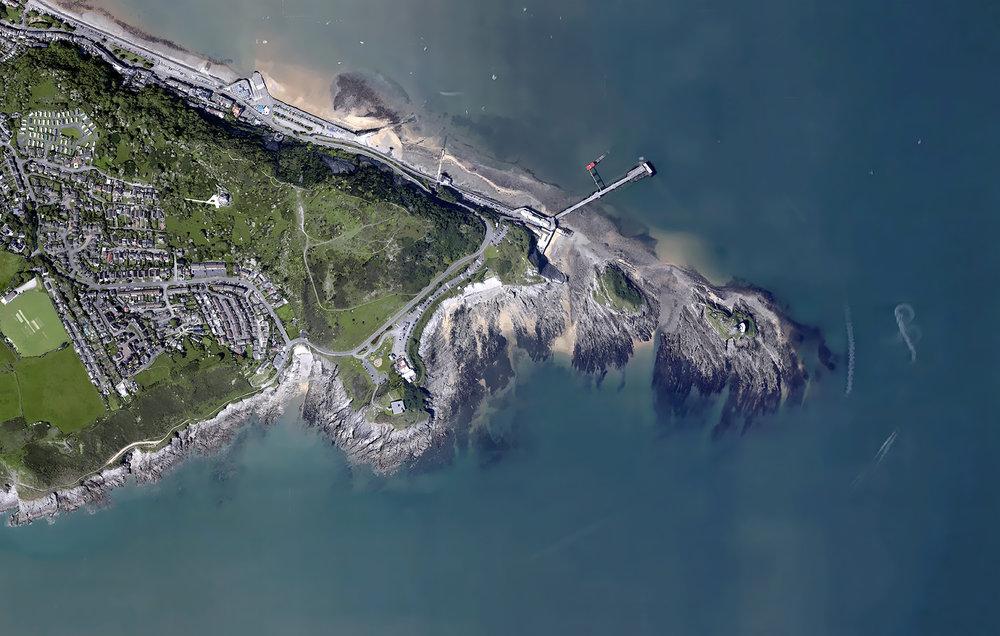 Google Earth: Swansea, Wales
