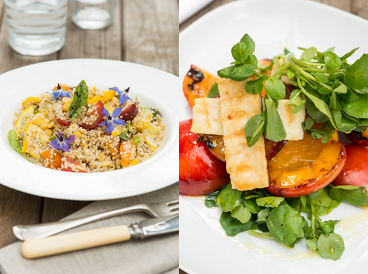 370_Halloumi_peach salad and quinoa salad with summer.jpg