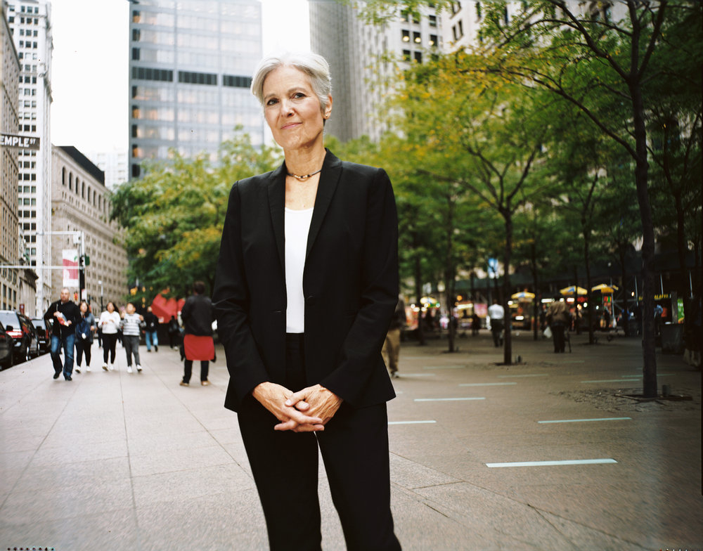 Green Party 2016 candidate for President, activist, medical doctor, environmental health advocate Dr. Jill Stein