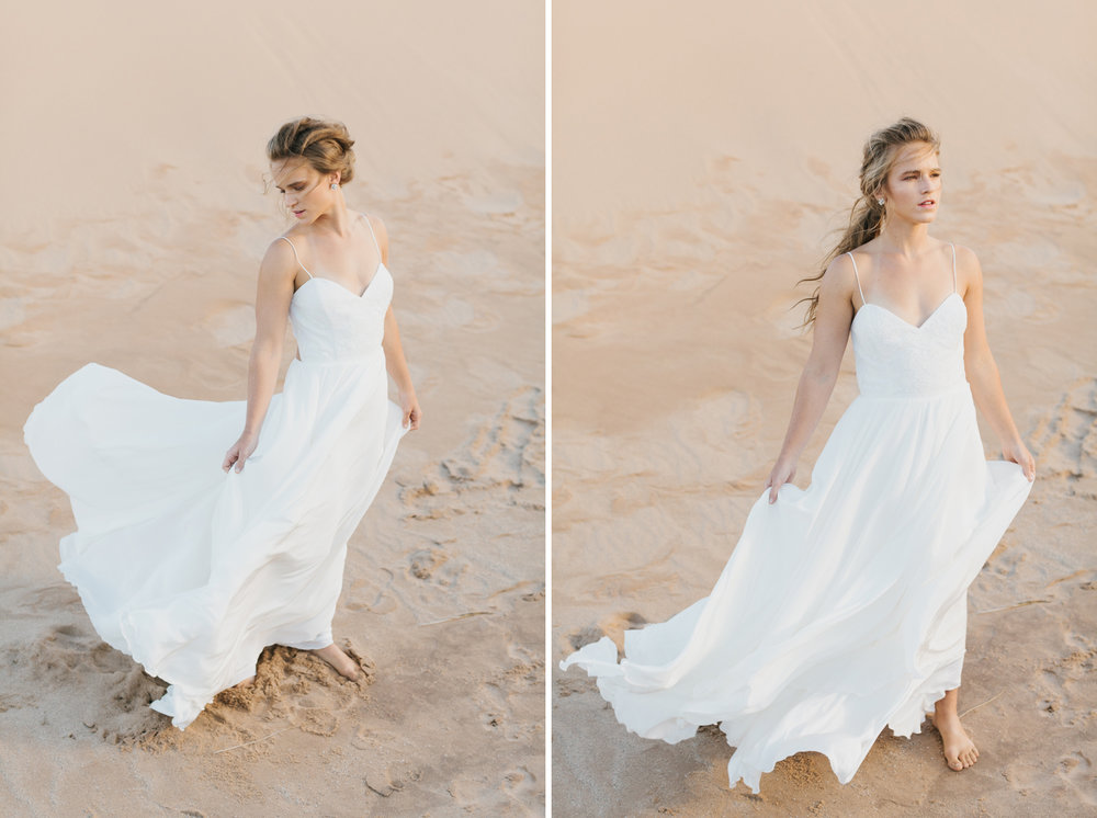 Sleeping Bear Dunes Bridal Portraits Wedding Photographer Mae Stier-008.jpg