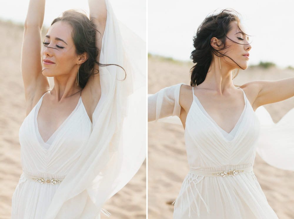 Sleeping Bear Dunes Bridal Portraits Wedding Photographer Mae Stier-014.jpg