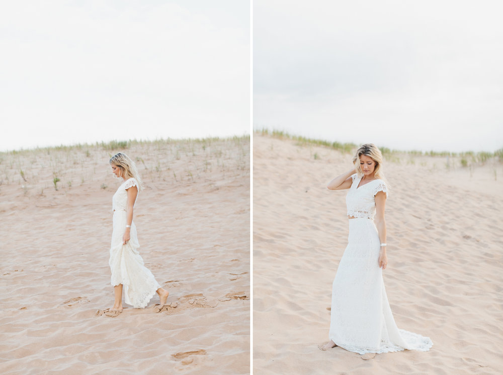 Sleeping Bear Dunes Bridal Portraits Wedding Photographer Mae Stier-019.jpg