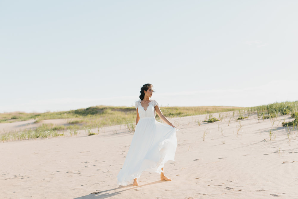 Sleeping Bear Dunes Bridal Portraits Wedding Photographer Mae Stier-033.jpg
