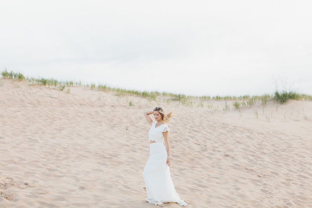 Sleeping Bear Dunes Bridal Portraits Wedding Photographer Mae Stier-039.jpg