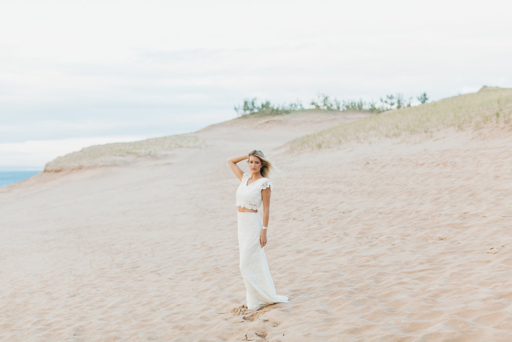 Sleeping Bear Dunes Bridal Portraits Wedding Photographer Mae Stier-040.jpg