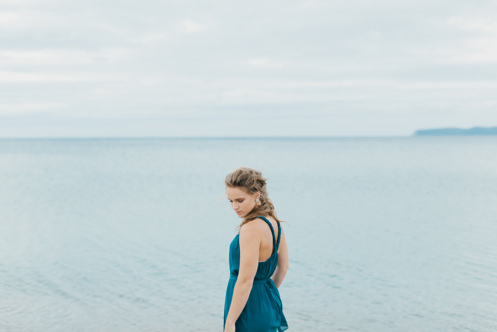 Sleeping Bear Dunes Bridal Portraits Wedding Photographer Mae Stier-044.jpg