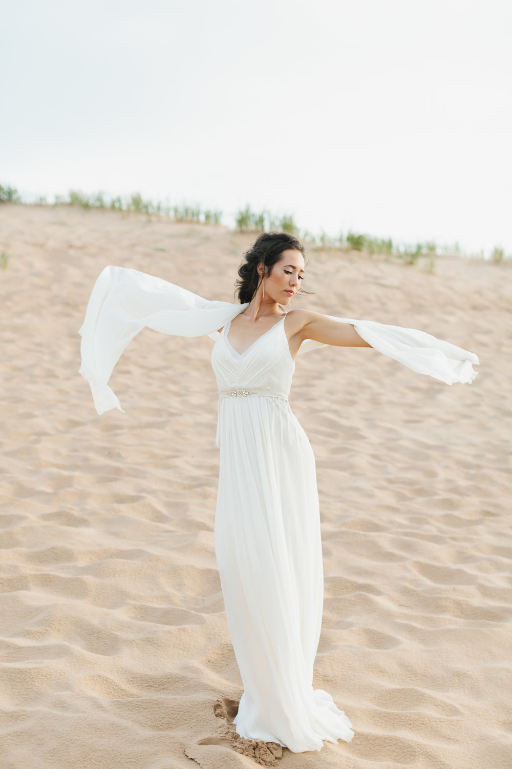 Sleeping Bear Dunes Bridal Portraits Wedding Photographer Mae Stier-048.jpg