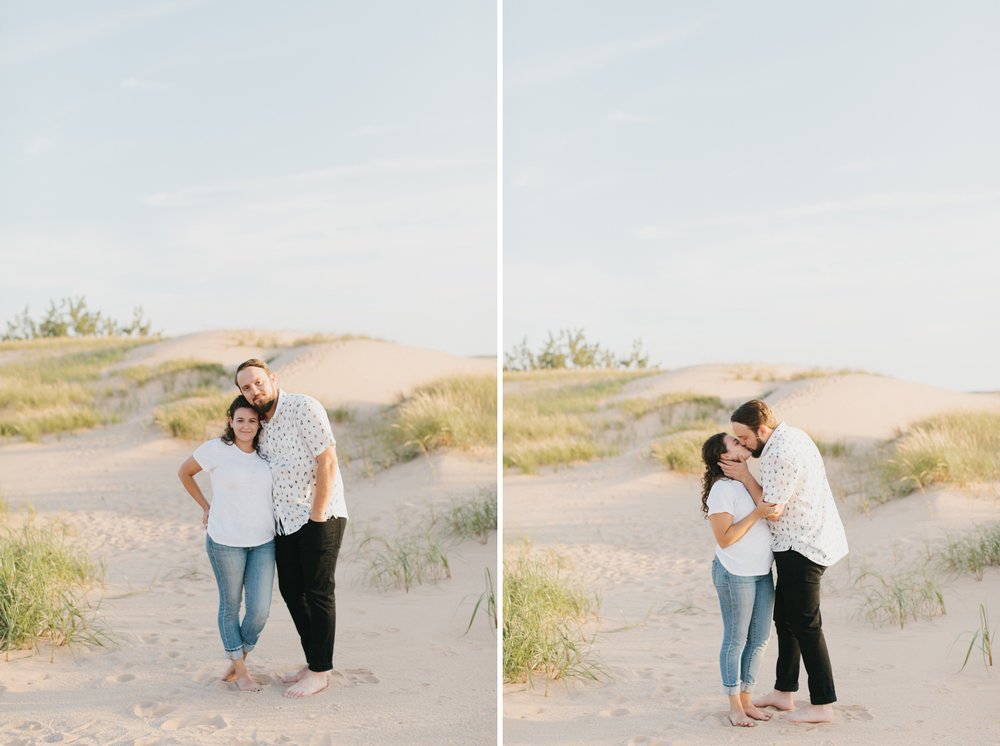 Northern Michigan Sleeping Bear Dunes Wedding Engagement Photographer Mae Stier-002.jpg