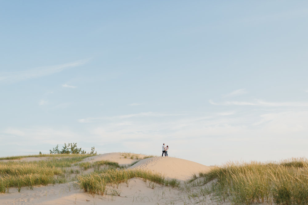 Northern Michigan Sleeping Bear Dunes Wedding Engagement Photographer Mae Stier-016.jpg