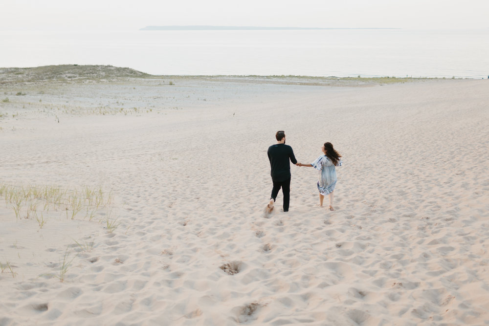 Northern Michigan Sleeping Bear Dunes Wedding Engagement Photographer Mae Stier-025.jpg