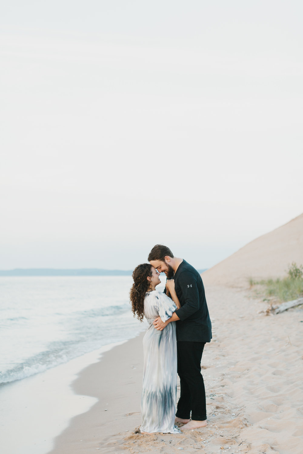 Northern Michigan Sleeping Bear Dunes Wedding Engagement Photographer Mae Stier-037.jpg