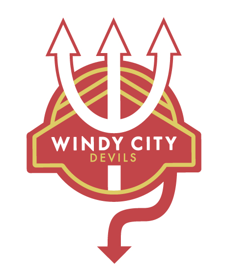 Windy City Devils Soccer Club. Club badge. 2013.