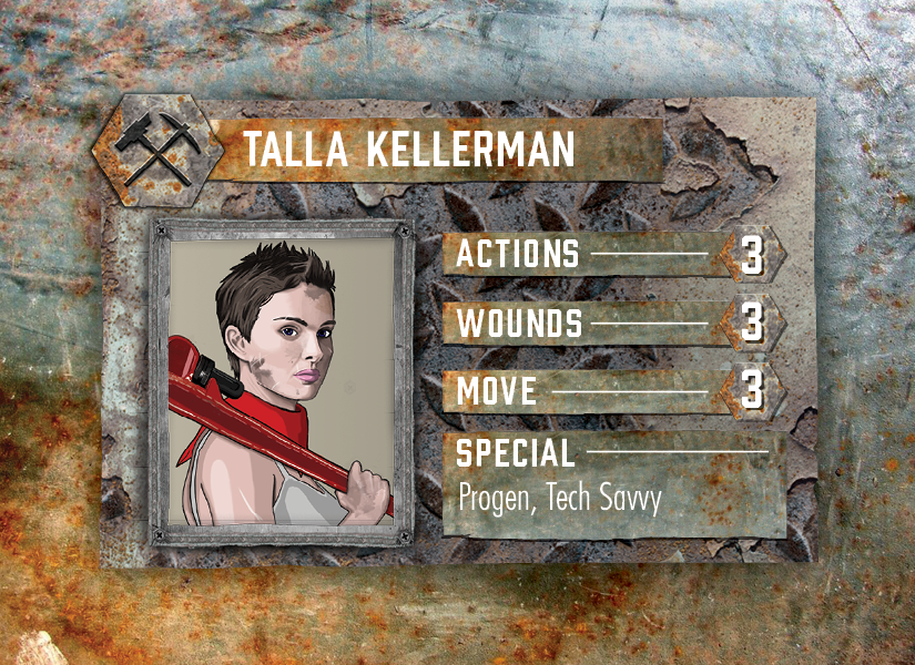 Broken Contract – Character Card