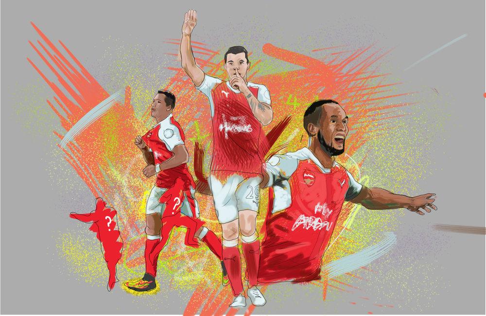 Arsenal Goals v Hull for #GiftofaGoal.Mathew Vieira