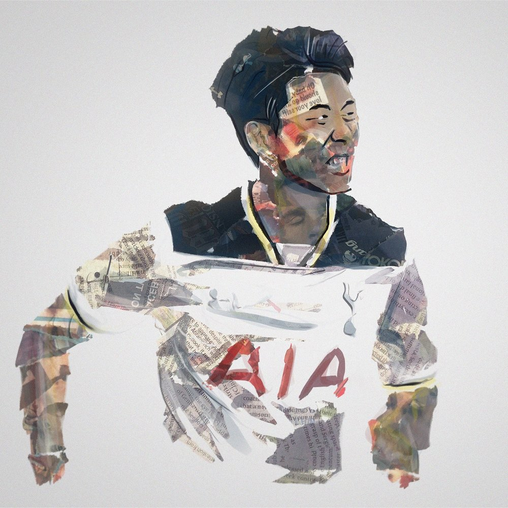 Son Heung-min by Richard Swarbrick