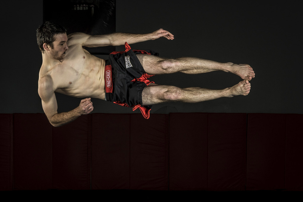 Standing drop-kick, the next big move in MMA