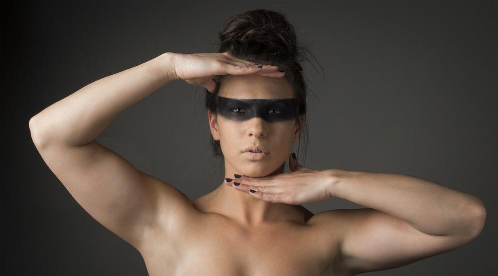 Model: Sarah Cur Makeup: Melissa O Makeup