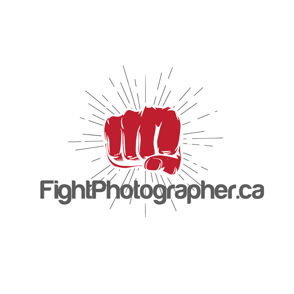 New branding for my fight photography