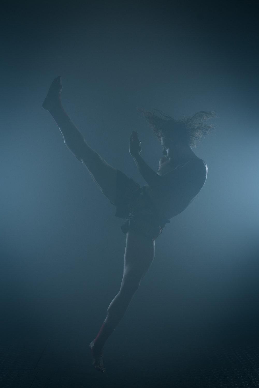 Spinning kick