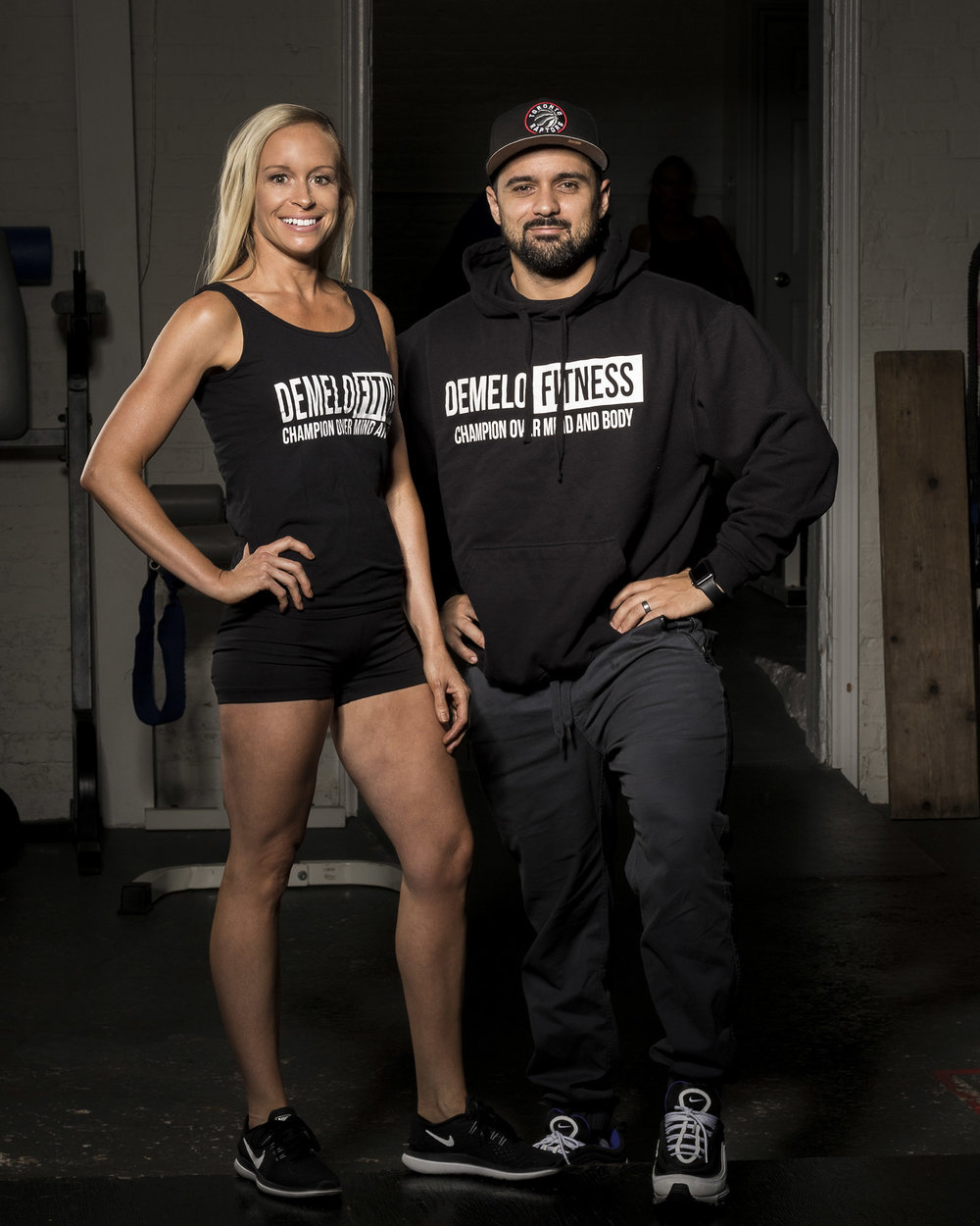 Josh and Melissa, DEMELO FITNESS